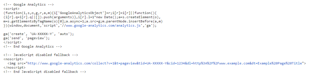 no-javascript-tag-google-analytics